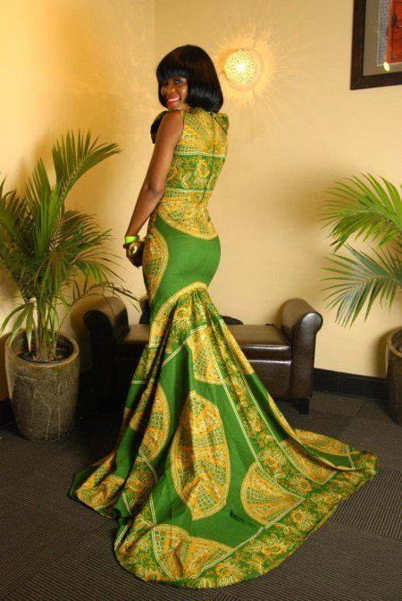 Drawn inspiration for my african dresses model only for African inspired wedding dresses